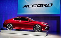 Detroit, Michigan - The 2013 Honda Accord concept on display at the North American International Auto Show