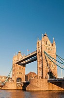 Tower Bridge at sunset, London, United Kingdom