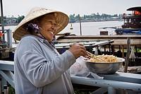 Woman, Mekong delta, Vietnam