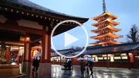Senso_ji Temple,Five Storied Pagoda,Asakusa district,Tokyo, Japan, Asia