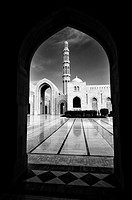 Al-Ghubrah & Ghala, also known as the Grand Mosque  Muscat, Oman.