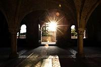 abbazia di San Galgano, chiusdino, toscana, italia