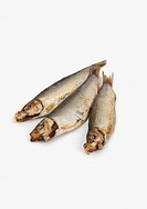 Hot smoked sprats