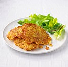 Curried sweetcorn fritters