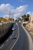 Street of Jerusalem City, capital of Israel, Asia, Middle East