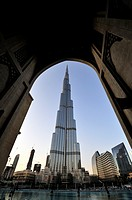 Burj Khalifa, the tallest skyscraper in the World 828 metres  Dubai, United Arab Emirates