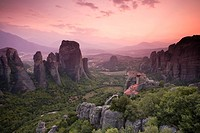 Greece, Thessaly, Meteora, Holy Monastery of Rousanou