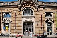 Markthalle, Indoor market building, Dresden, Saxony, Germany, Europe
