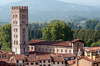 Italy, Tuscany, Lucca, San Frediano, Church                                                                                                           ...
