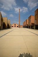 Italy, Veneto, Piazzola sul Brenta, Linificio Camerini factory ...