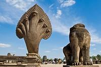 Asia, Cambodia, Angkor Wat temple ...