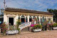 Asia, Vietnam, the Mekong Delta, Binh Thuy, maison de l´amant ...