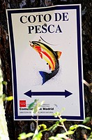 Fishing preserve in the Picadas, Madrid