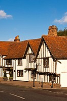 The Swan Hotel in Lavenham , Suffolk, England , Britain , Uk