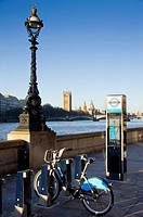 europe, UK, England, London, Boris bikes