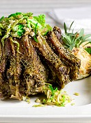 Lamb Chops with Cabbage