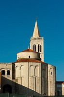 Church of st  Donat, Zadar, Zadar county, Dalmatian region, Croatia, Europe.