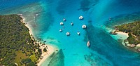 The ´Tobago Cays´ in the Grenadines  Caribbean