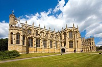St  Georges Chapel at Windsor Castle  England