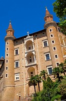 Ducal Palace, Urbino, Marche, Italy, Europe  UNESCO World Heritage site