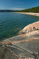 Agawa Bay, Lake Superior Provincial Park, Canadian Shield, Ontario, Canada