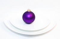 Christmas theme place setting