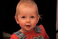 Baby, female, 11 month / Baby, Mädchen, 11 Monate alt