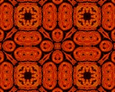 Special pattern Background Orange Brown
