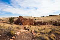 Lomaki Pueblo, Hopi Ruins, Wupaktki National Monument, Arizona