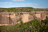 Aerial of Arnhem Land Escarpment, Kakadu National Park, Northern Territory, Australia