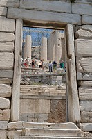 Entranceway, Acropolis, Athens, Greece