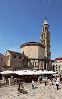 Cathedral of St Duje and Diocletian´s Palace, Split, Split_Dalmatia County, Croatia