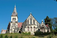 St. Andrew´s Church, British colonial era, Darjeeling, West Bengal, Lower Himalayan Range, India, South Asia, Asia