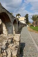 Historic aqueduct in Peseos Street, Nicosia, Cyprus, Europe