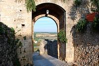 City doors of Monteriggioni