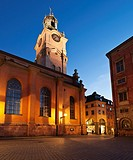 Church of St  Nicholas - Storkyrkan - Stockholm Cathedral, Gamla Stan - old town, Stockholm, Sweden