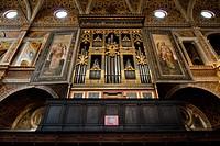 sala per le monache, monastero san maurizio maggiore, milano, italia