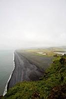Black sand beach, Dyrhlaey peninsula, Iceland