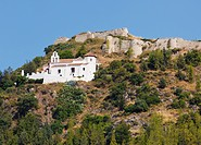 Hermitage Of Our Lady Of The Remedies And The Castle, Cartama Malaga Province Spain