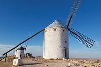 windmills, consuegra toledo province spain