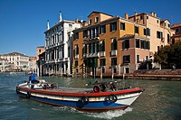Boat Transport/Delivery on The Grand Canal, Venice, Italy