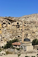 Turkey, Central Anatolia, Cappadocia, listed as World Heritage by UNESCO, Cavusin