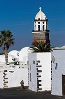 Spain, Canary islands, Lanzarote island, Senora de la Guadaloupe church in Teguise town the old capital island