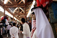 United Arab Emirates, Dubai, souk of Bur Dubai