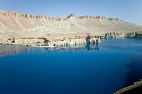 Afghanistan, Bamyian province, Band_e Amir, Band_I_Zulfiqar lake