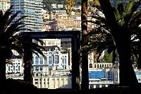 Principality of Monaco, Monaco, fishermen road, after the Rock Garden