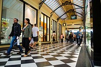Australia, Vicoria, Melbourne, downtown, Royal Arcade