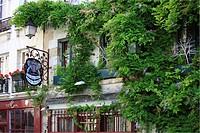 France, Paris, Ile de la Cite, Au Vieux Paris d´Arcole Restaurant located in 24 Rue Chanoinesse