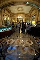 Italy, Campania, Naples, Gran Caffe Gambrinus