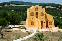 Tunisia, Ksar Ezzit tourist accommodation area near the town of El Fahs 40 km from Tunis